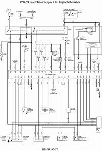 Wiring Diagram For A 1993 Eagle Talon Fuel Pump Circuit
