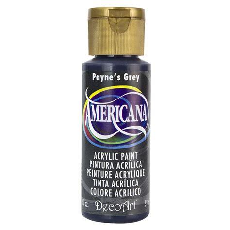 decoart americana 2 oz payne s grey acrylic paint da167 3