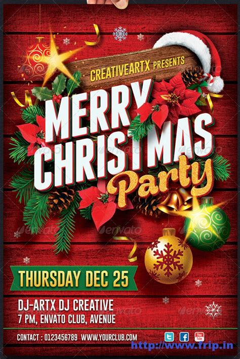 christmas party flyer best 35 new year flyer templates for 2014 frip in