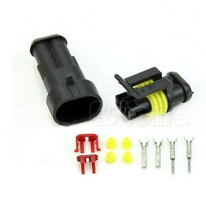 Kits Pin Way Sealed Waterproof Electrical Wire