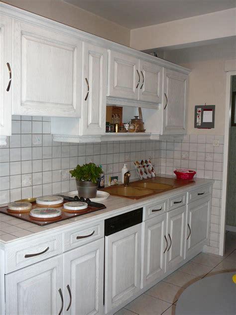 Meuble cuisine bois blanc - Le bois chez vous