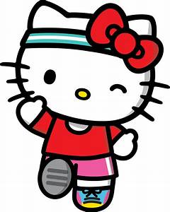 Image result for hello kitty running | Logo Inspiration ...