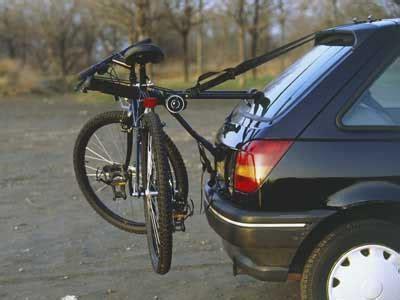bicycle car racks installing bike racks howstuffworks