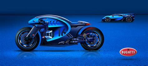 Bugatti Motorcycle On Behance