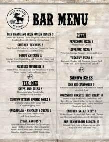 kitchen redesign ideas bald headed bistro bar menu on behance