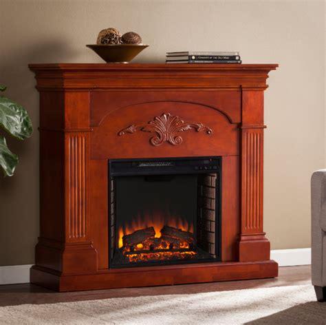 sicilian harvest mahogany electric fireplace fe