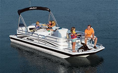 Hurricane 226 Deck Boat by Research Godfrey Marine 226 Ref 4 Gate Deck Boat On Iboats