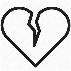 Broken, dislike, divorce, heart, love, romantic, valentine ...