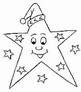 Star Coloring Pages Christmas Printable sketch template