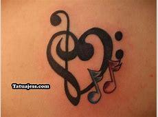 Tattoo Clave De Sol Corazon Tattoo Art