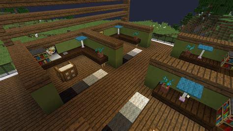 comment faire un bureau cubique minecraft