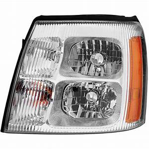 2004 Cadillac Escalade Headlight Assembly Left Driver Side
