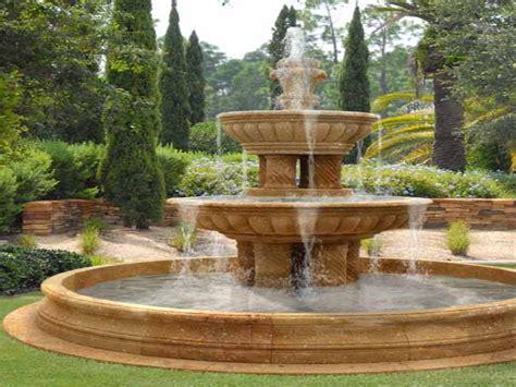 water fountain ideas garden front yard water fountain
