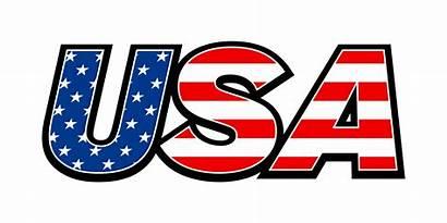 Usa Flag Vector America Text Icon United