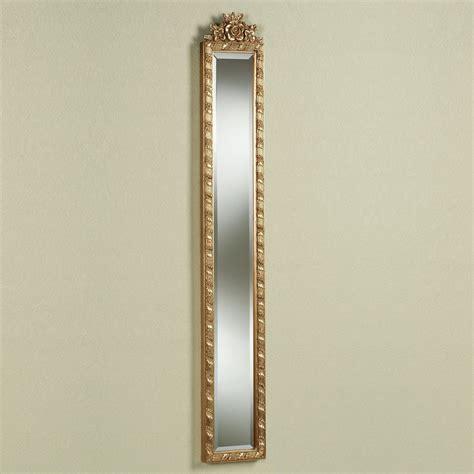 wooden frame mirror giuliana antique gold floral wall mirror panel