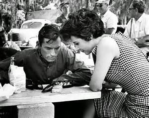 Gregory Peck and Polly Bergen