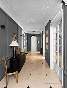 booster le style haussmannien par marion collard With good idee couleur peinture couloir 6 photo salon et platre deco photo deco fr