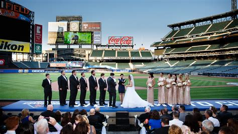 citi field wedding danielle and doug youtube