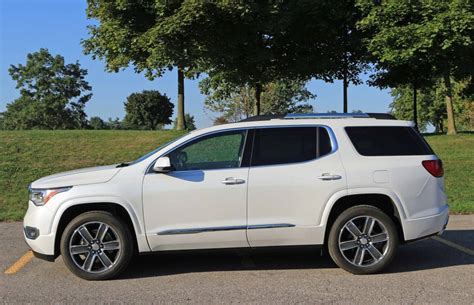 2017 Gmc Acadia Release Date, Price And Specs