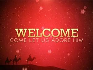 Christmas Welcome 01 | Centerline New Media | WorshipHouse ...