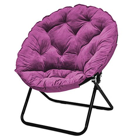 view purple oversized saucer chair deals at big lots