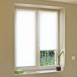 Store Enrouleur Blanc : store enrouleur tamisant easy roll blanc 42 x 170 cm pas ~ Edinachiropracticcenter.com Idées de Décoration