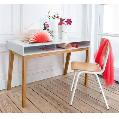 bureau design contemporain bureau design contemporain jimi blanc la redoute