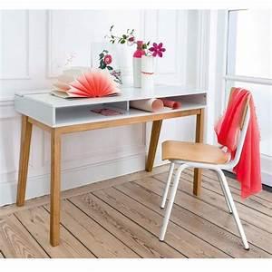 Bureau Contemporain Design : bureau design contemporain jimi blanc la redoute interieurs la redoute ~ Teatrodelosmanantiales.com Idées de Décoration