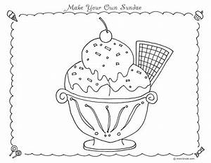 Ice cream scoops coloring pages   Coloring Pages for Free