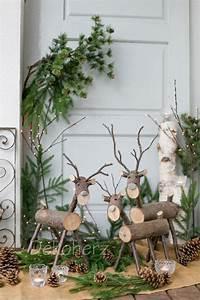 Basteln Holz Weihnachten Kostenlos : die besten 25 rentiere ideen auf pinterest ~ Lizthompson.info Haus und Dekorationen