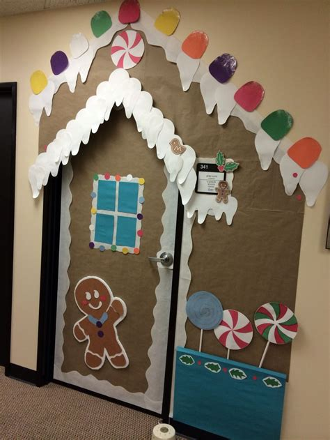 christmas door decoration delightful dorm rooms