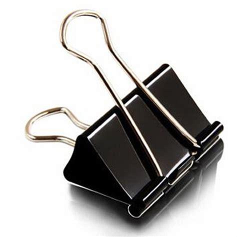 fourniture bureau discount aliexpress com buy 40 pieces lot black metal binder