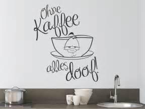 wohnideen wohnzimmer arbeitszimmer wandtattoo ohne kaffee alles doof mit kaffeetasse wandtattoo de