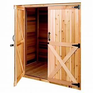 Shop Cedarshed Cedar Storage Shed Door at Lowes com