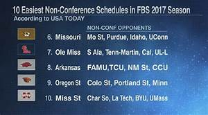 4 SEC teams make USA Today's 10 easiest non-conference ...