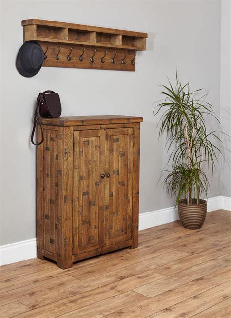 Oak Shoe Cupboards by Heyford Sawn Oak Shoe Cupboard Oak Shoe Cabinet