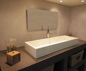 Resinence Beton Mineral : b ton min ral r sinence b ton cir salle de bains microtopping bathroom pinterest ~ Sanjose-hotels-ca.com Haus und Dekorationen