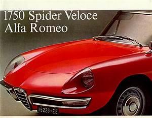 Alfa Romeo Spider 1968 : 1968 1750 spider veloce alfa romeo english ~ Medecine-chirurgie-esthetiques.com Avis de Voitures