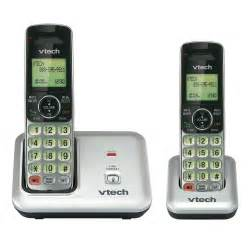 wireless smartphones vtech two handset cordless phone system cs6419 2