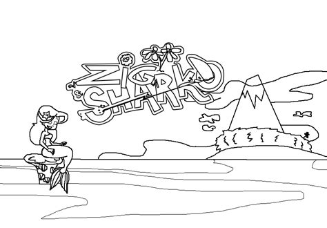 zig  sharko coloring pages coloring pages