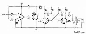 Audible Logic Indicator - Basic Circuit