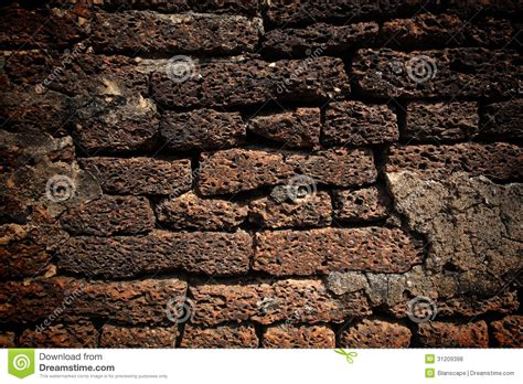 texture  laterite stone wall stock photo image