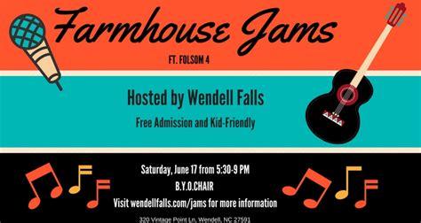 wendell falls set  host folsom   junes farmhouse