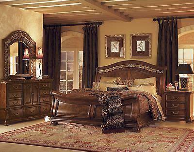edredones granada wynwood granada cherry queen size sleigh wood bed bedroom
