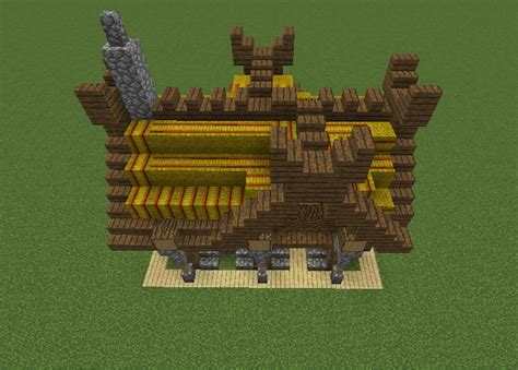 small viking house grabcraft  number  source  minecraft buildings blueprints