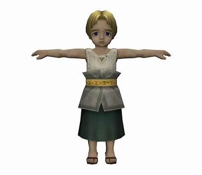 Princess Colin Twilight Zelda Archive Resource Models