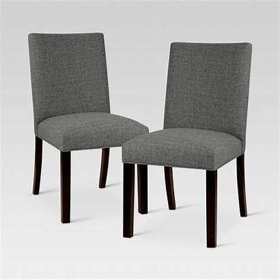 Dining Parsons Chair Linen Chairs Textured Target