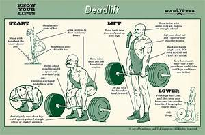 How To Deadlift  An Illustrated Guide