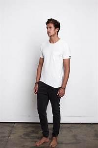 White T-shirt and black denim jeans | Mens fashion/style | Pinterest