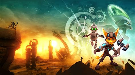 Ratchet And Clank Wallpaper 1920x1080 Review Ratchet And Clank Future A Crack In Time Select Start Games